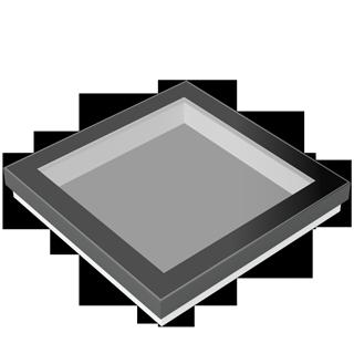 SkyVision FIXED das fetsverglaste Oberlicht für Flachdächer